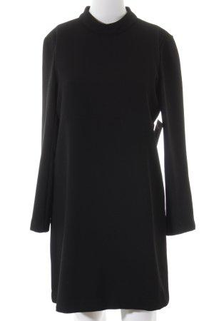 Zara Woman Langarmkleid schwarz Business-Look