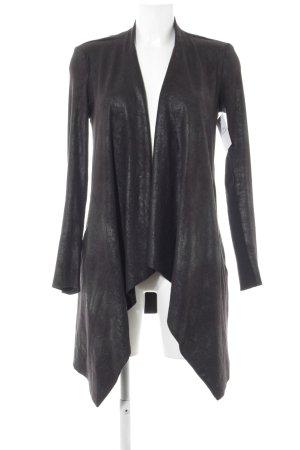 Zara Woman Lange Jacke schwarz Elegant