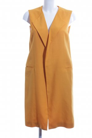 Zara Woman Long-Blazer hellorange Business-Look