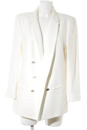 Zara Woman Long-Blazer creme Elegant
