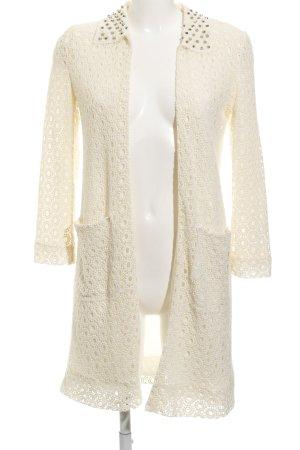 Zara Woman Long-Blazer creme extravaganter Stil