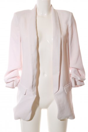 Zara Woman Long-Blazer creme Business-Look