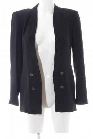 Zara Woman Long-Blazer schwarz Business-Look