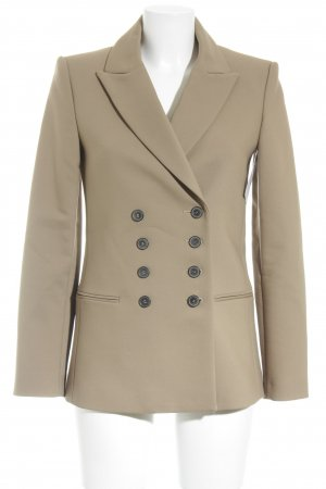 Zara Woman Long-Blazer hellbraun Brit-Look