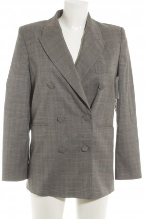 Zara Woman Long-Blazer Karomuster Business-Look