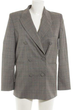 Zara Woman Long-Blazer Karomuster Business-Look