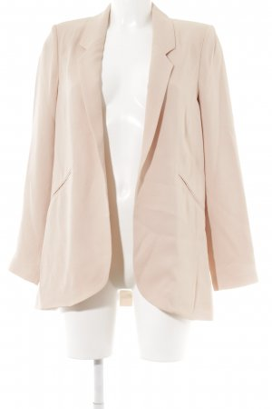 Zara Woman Long-Blazer rosé-altrosa Business-Look