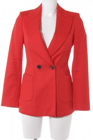 Zara Woman Long-Blazer rot Business-Look