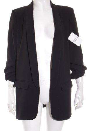 Zara Woman Blazer largo negro estilo «business»