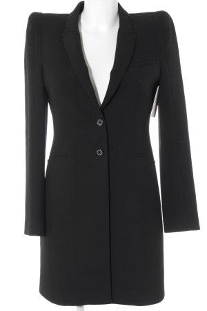 Zara Woman Long-Blazer schwarz Elegant