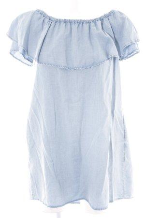 Zara Woman Longtop himmelblau
