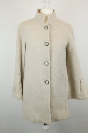 Zara Woman Mantel Gr. XS creme