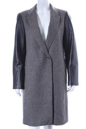 Zara Woman Mantel schwarz-beige Hahnentrittmuster klassischer Stil
