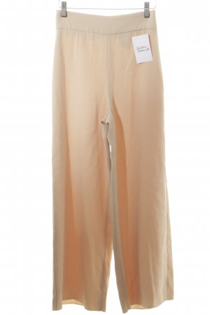 Zara Woman Marlenehose creme-nude Elegant