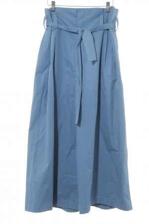 Zara Woman Marlene Trousers cornflower blue casual look
