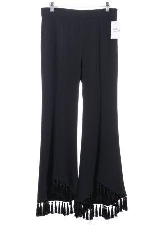 Zara Woman Marlenehose schwarz Casual-Look