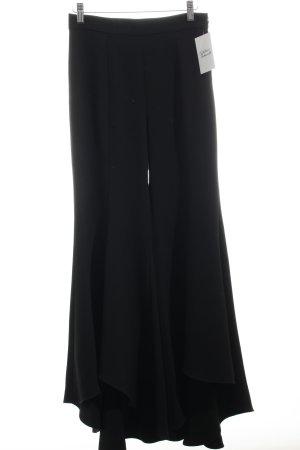 Zara Woman Marlenehose schwarz Street-Fashion-Look