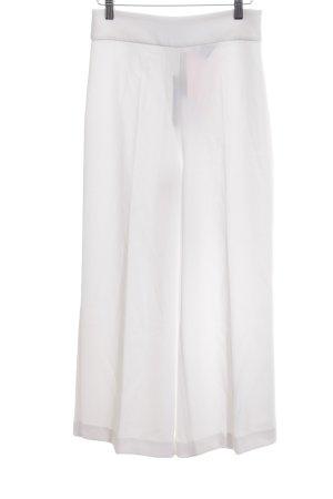 Zara Woman Marlene Trousers white elegant