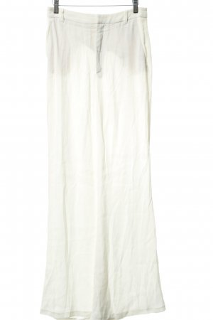 Zara Woman Marlene Trousers natural white transparent look
