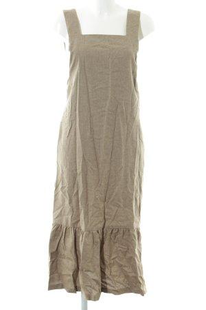 Zara Woman Maxikleid beige Casual-Look