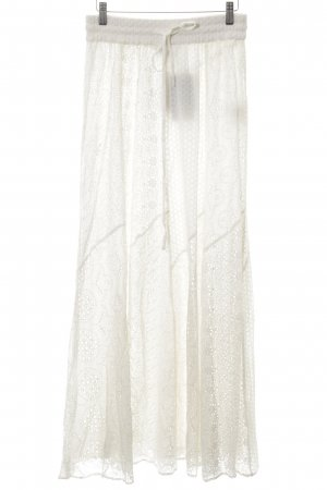 Zara Woman Maxi Skirt natural white casual look