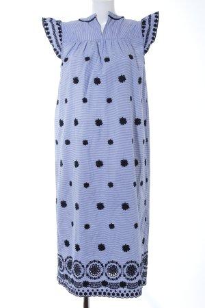 Zara Woman Midikleid Blumenmuster klassischer Stil