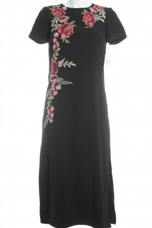 Zara Woman Midikleid Blumenmuster Romantik-Look