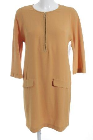Zara Woman Midikleid orange Casual-Look