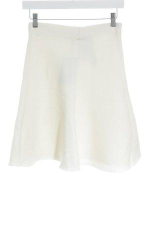 Zara Woman Midirock creme meliert Casual-Look