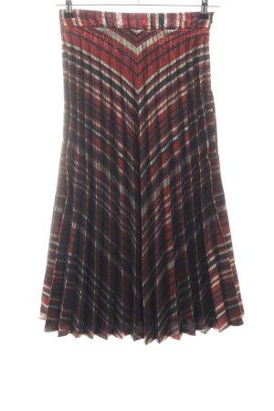 Zara Woman Midirock Streifenmuster Casual-Look