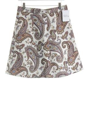 Zara Woman Midirock Paisleymuster Vintage-Look