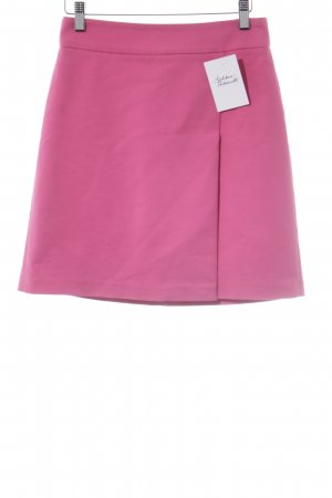 Zara Woman Midirock pink Casual-Look
