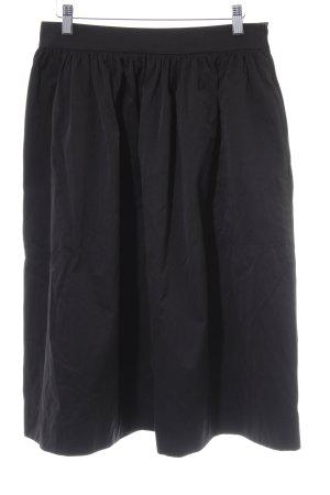 Zara Woman Midirock schwarz Casual-Look