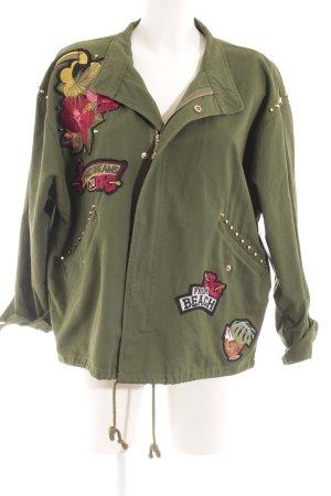 Zara Woman Militaryjacke khaki Casual-Look
