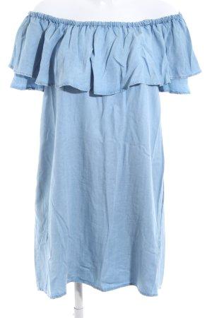 Zara Woman Minikleid blau Casual-Look
