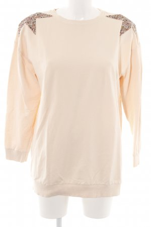 Zara Woman Minikleid creme Casual-Look