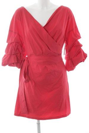 Zara Woman Minikleid himbeerrot Elegant