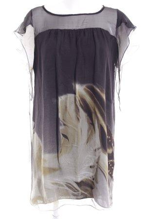 Zara Woman Minikleid Motivdruck Vintage-Look