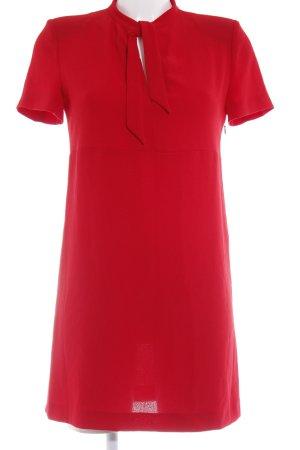 Zara Woman Minikleid rot klassischer Stil