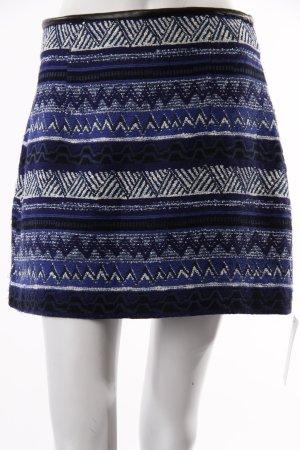 Zara Woman Minirock Blau