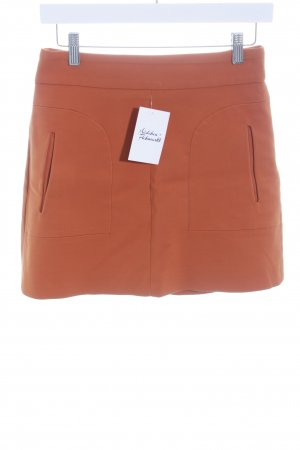 Zara Woman Minirock dunkelorange Casual-Look