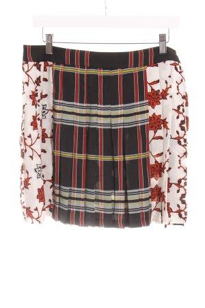 Zara Woman Minirock florales Muster Casual-Look