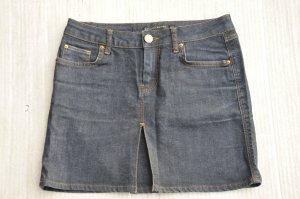 zara woman minirock jeans neuwertig gr. 34 xs