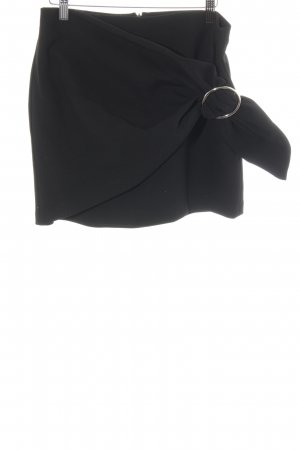 Zara Woman Minirock schwarz 90ies-Stil