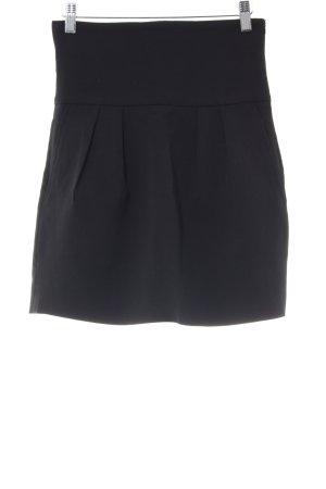 Zara Woman Minirock schwarz Elegant