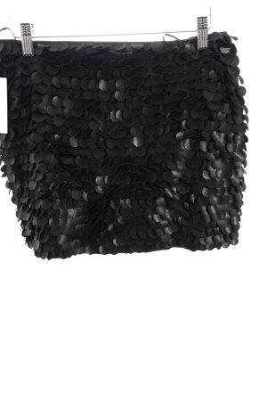 Zara Woman Minirock schwarz Lagen-Look