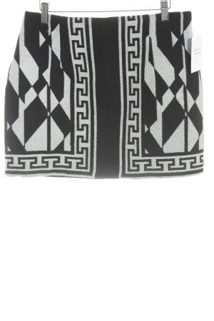 Zara Woman Minirock schwarz-weiß Casual-Look
