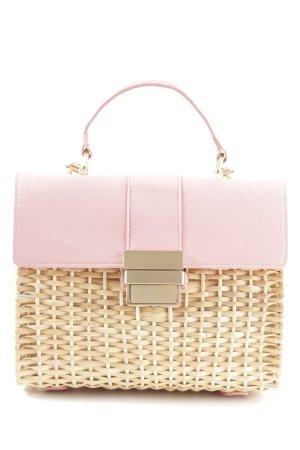 Zara Woman Minitasche pink-wollweiß Elegant