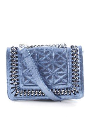 Zara Woman Mini sac bleu azur style festif