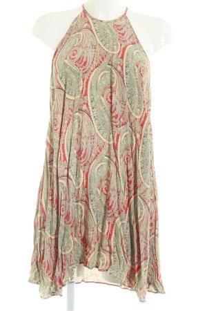 Zara Woman Halterjurk bloemenprint Beach-look